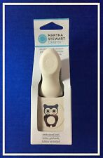 Martha Stewart EMBOSSED OWL Double Craft Punch 🦉 ***NEW***