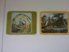 TWO 1970s Extra Large PC Python and Log Flume Ride Busch Gardens Tampa Florida