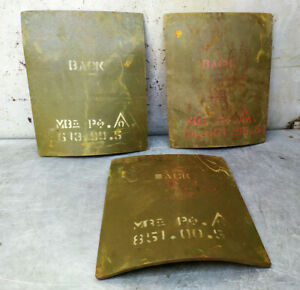 "Level III Ballistic Steel Armor Plate 7.62 / Size 10""x12"" / 7.7 lbs/  $100 each"