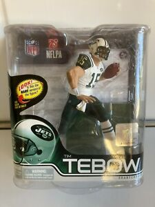 MCFarlane NEW YORK JETS TIM TEBOW Action Figure White Jersey (2012, Series 31)