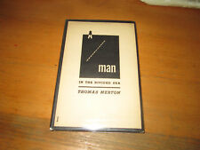 Thomas Merton MAN IN THE DIVIDED SEA New Directions First Edition in jacket!
