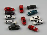 50pcs HO Scale 1:87~1:100 Mixed C100 Model Car for Building Highway Scenery