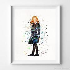 Hermione Granger Harry Potter Watercolor Poster Nursery Decor Art Print Unframed