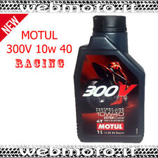 1 LT. OLIO MOTUL 300V 10W40 4T FACTORY LINE 100% SINTETICO
