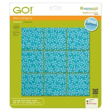 "AccuQuilt GO! Fabric Cutter Die Square 2 1/2"" Multiples 55059"
