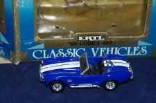 1/43 1965 COBRA 427 ERTL CLASSIC MINT WITH BOX