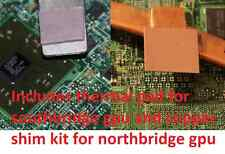 Dell Inspiron M5010 0YP9NP YP9NP GPU Copper Shim Kit 4 Heatsink -- Exact Fit --