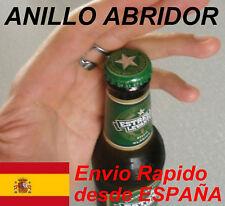 Anillo para abrir botellas Abridor de botellas Cerveza Refrescos Abrebotellas