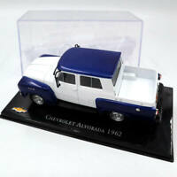 IXO 1:43 Altaya Chevrolet Alvorada 1962 Diecast Toys Cars Models Collection