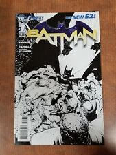 DC Comics The New 52 Batman #1 Scott Snyder Sketch Variant