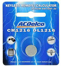 CR1216 Lithium Watch Remote Batteries CR1216 3V Battery ACDelco 1 Battery