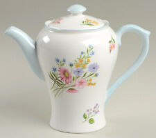 """SHELLEY """"WILD FLOWERS"""" Coffee Pot  2 1/2 Cup  13668"""
