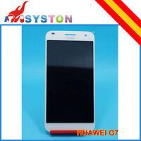 Pantalla Completa para Huawei Ascend G7 Blanco Lcd + Tactil blanc  display Touch