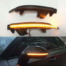 For Audi A7 S7 RS7 4G8 10-17 LED Dynamic Turn Signal Light Side Mirror Indicator