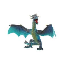 """Bullyland 75592 Fantasy """"fliegender Drache"""" türkis Kunststoff Spielfigur NEU!  #"""