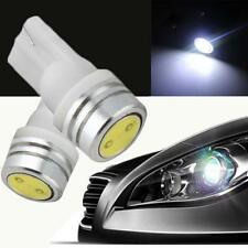 New Hot Auto Bulb T10 168 194 1W W5W LED Car Wedge Side Light White DC 12V