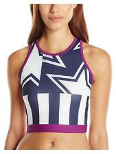 NWT Stella Mccartney Adidas Crop Top Stars Stripes Sports Bra Yoga Run Women's M