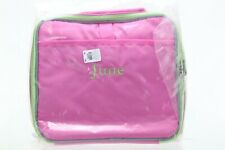 "NWT Pottery Barn Kids Fairfax Travel Case Pink ""JUNE"" NWT"
