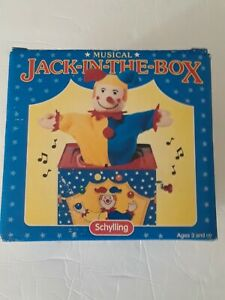 Vintage 1977 JACK-IN-THE-BOX Schylling New in box (Defect)
