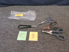 4 WISS MIDWEST SCISSORS WIRE CUTTERS P77D J7S FORGED SHEAR SNIPS METAL TIN USED