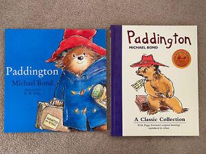 Lot Of 2 Paddington Bear Books By Michael Bond.