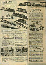 1973 PAPER AD 3 Pg Train Marx HO Cannonball Switch 'N' Spur N Scale Diesel