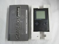 L908 Nintendo Gameboy Pocket Console Black Japan GB w/box JUNK