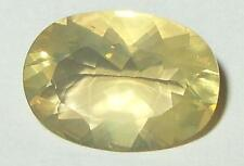 3.49ct Glassy Golden Mexican Opal Oval Cut