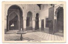fez , intérieur arabe