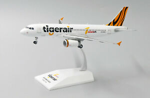 JC WINGS JC2223 1/200 TIGERAIR TAIWAN AIRBUS A320 B-50003 WITH STAND