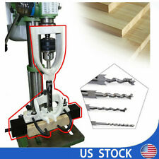 New listing Woodworking Drilling Tenon Joint Mortise Mortising Attachment Chisel Bit Sale