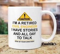 Funny Retired Chemistry Teacher Coffee Mug Caution I M A Retired Chemistry Ebay