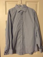 Men's Brooks Brothers 16 1/2 35 Slim Fit Long Sleeve Dress Shirt French Cuff