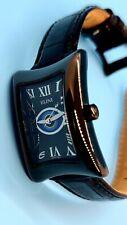 Elini Nazar Lucky Eye Swiss Made Ladies Quartz Watch Black Leather BK781EYECR