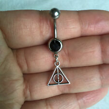 1pcs Handmade Harry Potter belly button jewelry Dangle navel ring Body jewelry