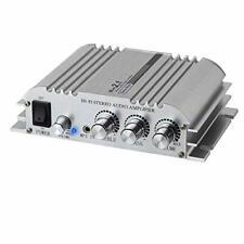 LiNKFOR Mini Amplifier Hi-Fi 2.1 CH Class D Stereo Amplifier Amp 2x40W Aluminum