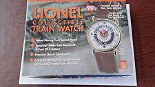 LIONEL Collector's Ed. TRAIN WRIST WATCH  W/Tin Case
