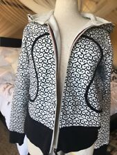 Lululemon Cotton Fleece Hoody Sz 12