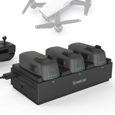 Smatree Portable Charging Station for DJI Spark Drone-Quick-Charge