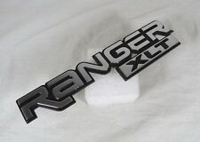 FORD RANGER XLT EMBLEM 89-95 FRONT FENDER GENUINE OEM BADGE sign symbol logo