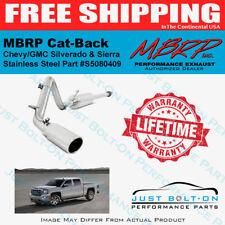 "MBRP 3"" Cat-Back 2014-2018 Chevy/GMC 4.3L 5.3L Sierra Silverado 409 SS S5080409"