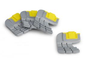 Zodiac Pool Systems R0714400 Cyclonic Scrubbing Brush 4 Per Pack