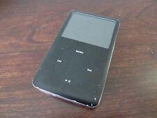 Apple iPod Classic 6th Generation Black (80 GB) Works Good