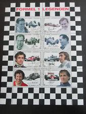 """Österreich KL Kleinbogen """"Formel 1 Legenden""""  Ersttagsstempel 2006 falz"""