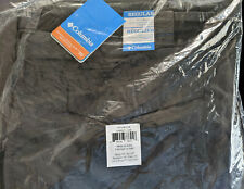 NEW COLUMBIA PFG SILVER RIDGE Men's Belted Cargo Pants 44 X 34 Charcoal Gray NWT