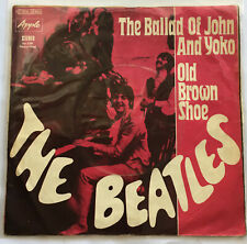 THE BEATLES / BALLAD OF JOHN AND YOKO / GERMANY APPLE / 1969