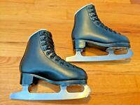 Jackson Ultima Glacier Figure Ice Skates - Youth Tots - Black - Size 11