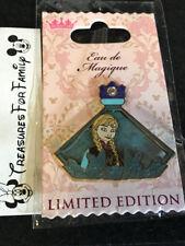 Disney LE Pin Eau De Magique Perfume Bottle Princess Anna Frozen FREE SHIP
