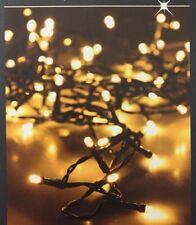 LED Lichterkette 540 LEDs  innen außen Weihnachten Beleuchtung Warmweiß Baum