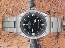 Gents Vintage Stainless Steel Rolex Oyster Perpetual Explorer 5500